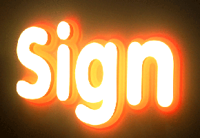 Sign bằng LED